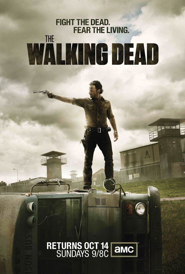 The Walking Dead season 3 stars October 14