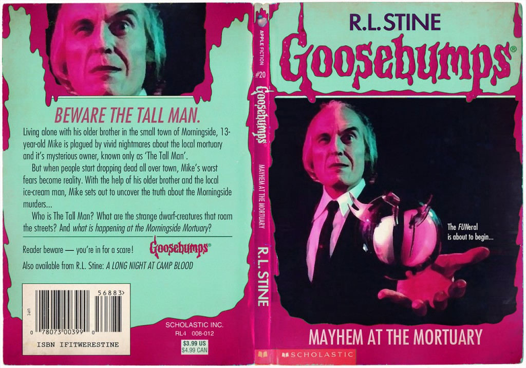 what if  these films were actually goosebumps novels