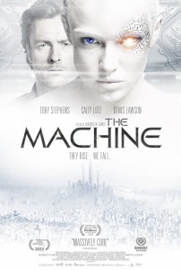 The Machine UK Poster