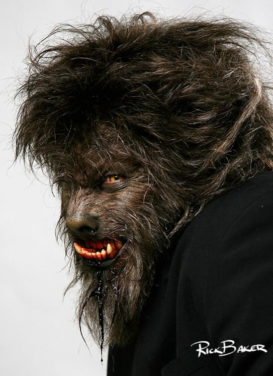 Check Out Rick Baker's First Wolfman Personal Makeup Test ...
