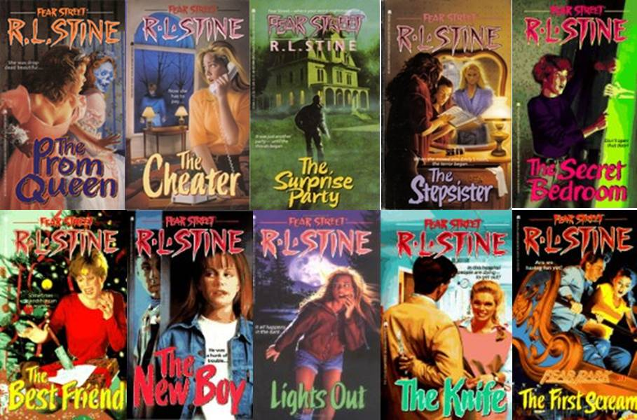 Fear Street: My Old Stomping Grounds - Top 9 Fear Street Books