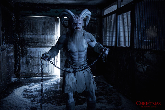 A Christmas Horror Story Trailer: Krampus Comes to Town with a Vengeance.