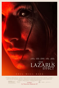 The Lazarus Effect on DVD Blu-ray today