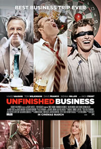 Unfinished Business on DVD Blu-ray today