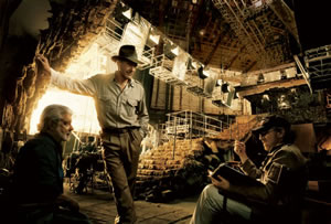 Spielberg didn't like the aliens in Indiana Jones either