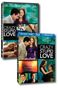 Crazy Stupid Love on Blu-ray and DVD