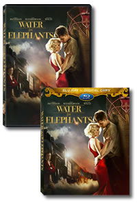 Water for Elephants on Blu-ray and DVD