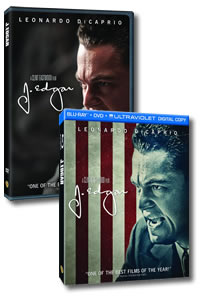 J. Edgar on DVD Blu-ray today