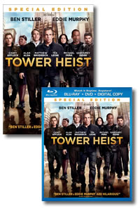Tower Heist on DVD Blu-ray today