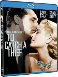 To Catch a Thief on DVD Blu-ray today