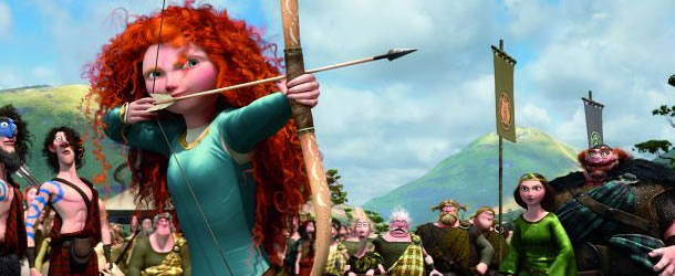 Merida will shoot for her own hand