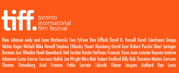 2012 Toronto International Film Festival lineup