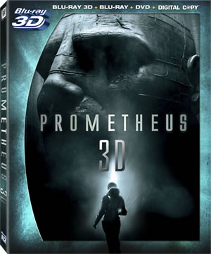 Prometheus Blu-ray Art