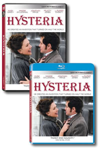 Hysteria on DVD Blu-ray today