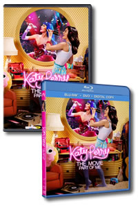 Katy Perry: Part of Me on DVD Blu-ray today