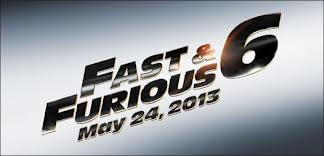 Fast and Furious 6 logo