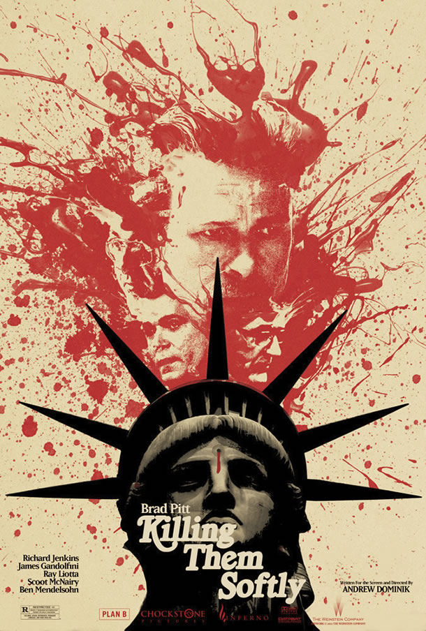 Killing Them Softly Mondo Poster #1