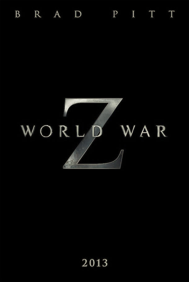 World War Z teaser poster