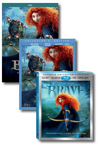 Brave on DVD Blu-ray today