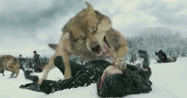 Visual Effects Featurette for 'Twilight: Breaking Dawn ...