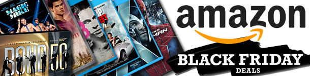 Amazon Cyber Monday 2012 Deals on DVDs and Blu-rays