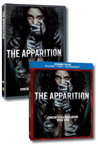 The Apparition on DVD Blu-ray today