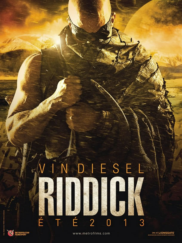 French poster for Riddick