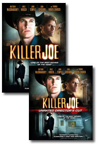 Killer Joe on DVD Blu-ray today