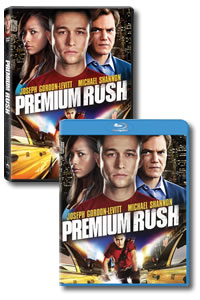 Premium Rush on DVD Blu-ray today
