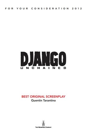 Django Unchained Screenplay Cover Sheet