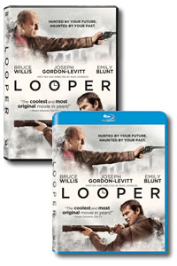 Looper on DVD and Blu-ray