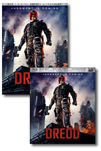 Dredd on DVD Blu-ray today