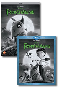 Frankenweenie on DVD Blu-ray today