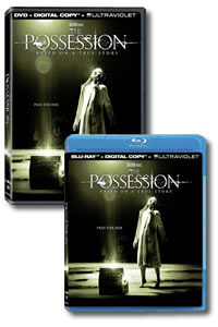 The Possession on DVD Blu-ray today