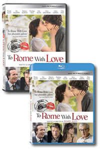 To Rome with Love on DVD Blu-ray today