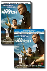 End of Watch on DVD Blu-ray today