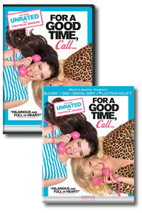 For a Good Time, Call... on DVD Blu-ray today