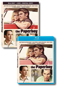 The Paperboy on DVD Blu-ray today