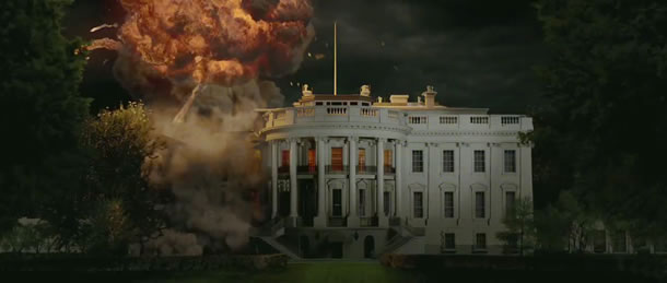 White House Gets Blown Up In Trailer For Olympus Has