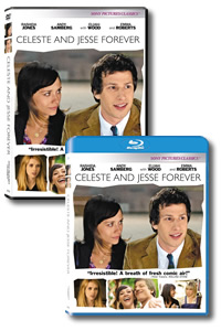 Celeste and Jesse Forever on DVD Blu-ray today