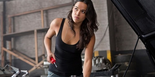 Michelle Rodriguez in Fast & Furious 6