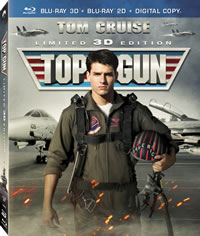 Top Gun 3-D on DVD Blu-ray today