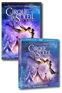 Cirque du Soleil: Worlds Away on DVD Blu-ray today