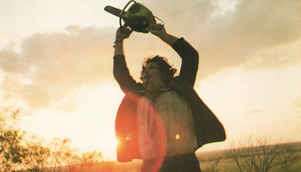 Gunnar Hansen in The Texas Chain Saw Massacre