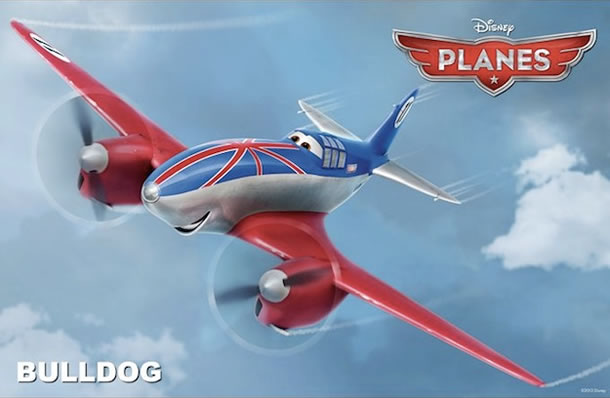 John Cleese will voice Bulldog in Planes