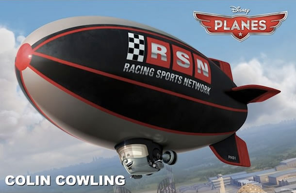 ESPN's Colin Cowherd will voice Colin Cowling in Planes