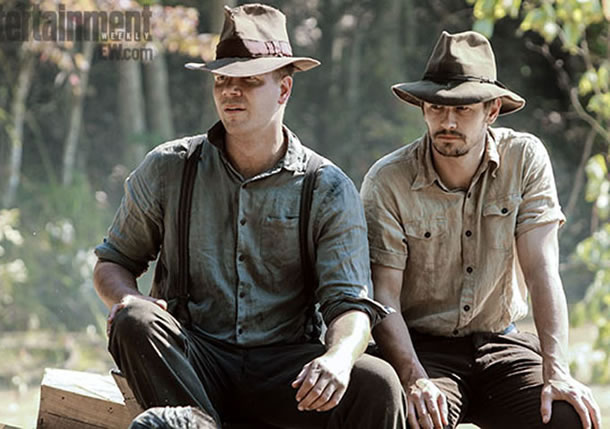 Jim Parrack and James Franco in As I Lay Dying