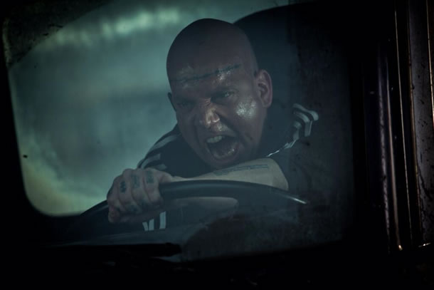 Picture of Paul Giamatti as the Rhino in Amazing Spider Man 2