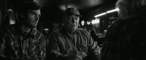 Will Forte and Stacy Keach in Nebraska