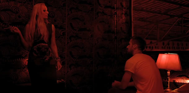 Kristin Scott Thomas and Ryan Gosling in Only God Forgives